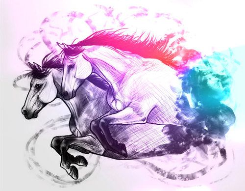 Id love to have this Horses tattoo
