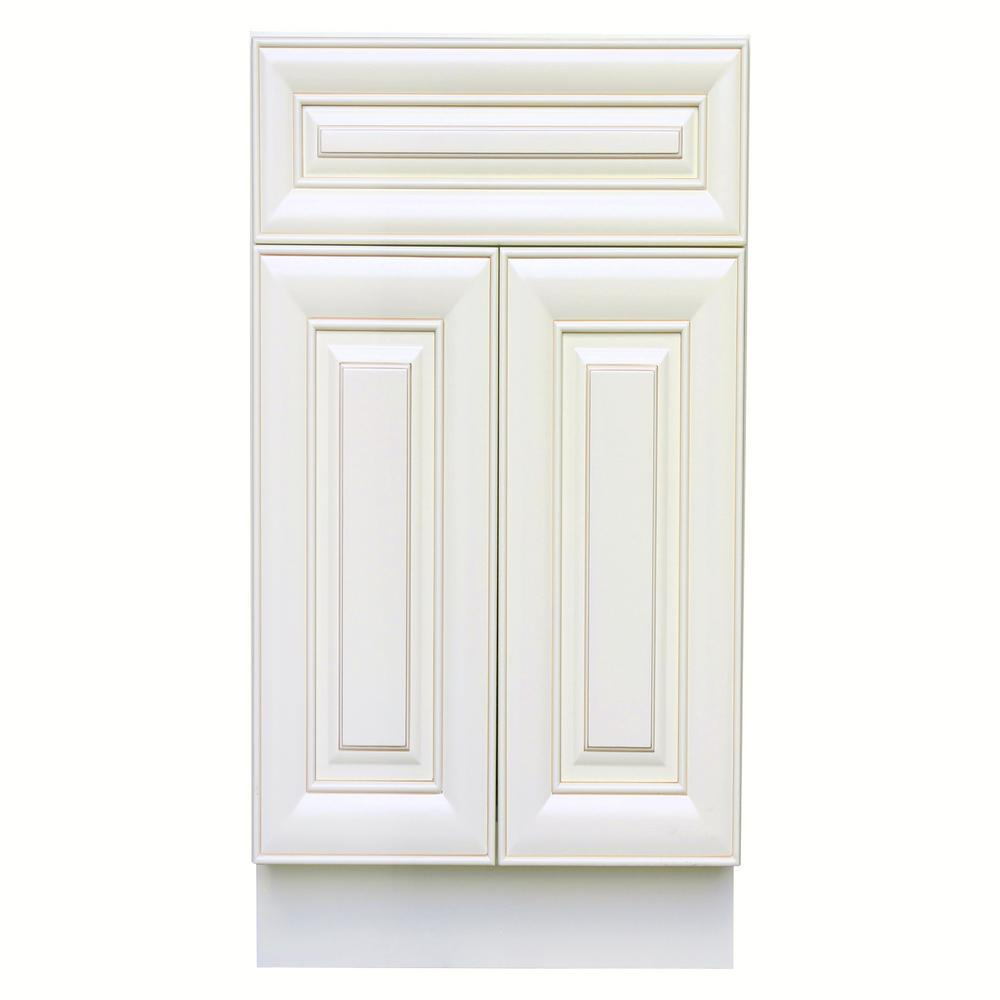 Ruggear Usa Plywell Ready To Assemble Holden 36 In W X 21 In D X 34 5 In H Vanit Antique White Kitchen Antique White Kitchen Cabinets Antique White Cabinets