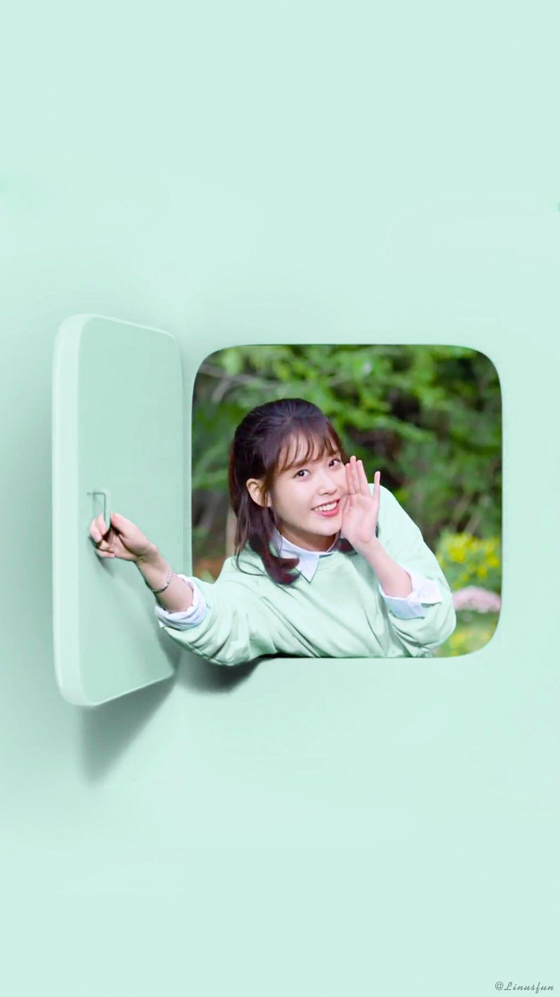 Iu Wallpaper Samsung Card ジウン かわいい 愛される