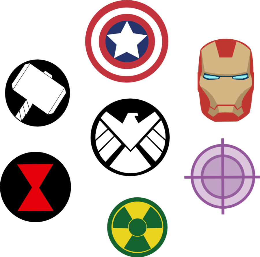 Marvel Avengers Symbols by Captain-Connor on ...