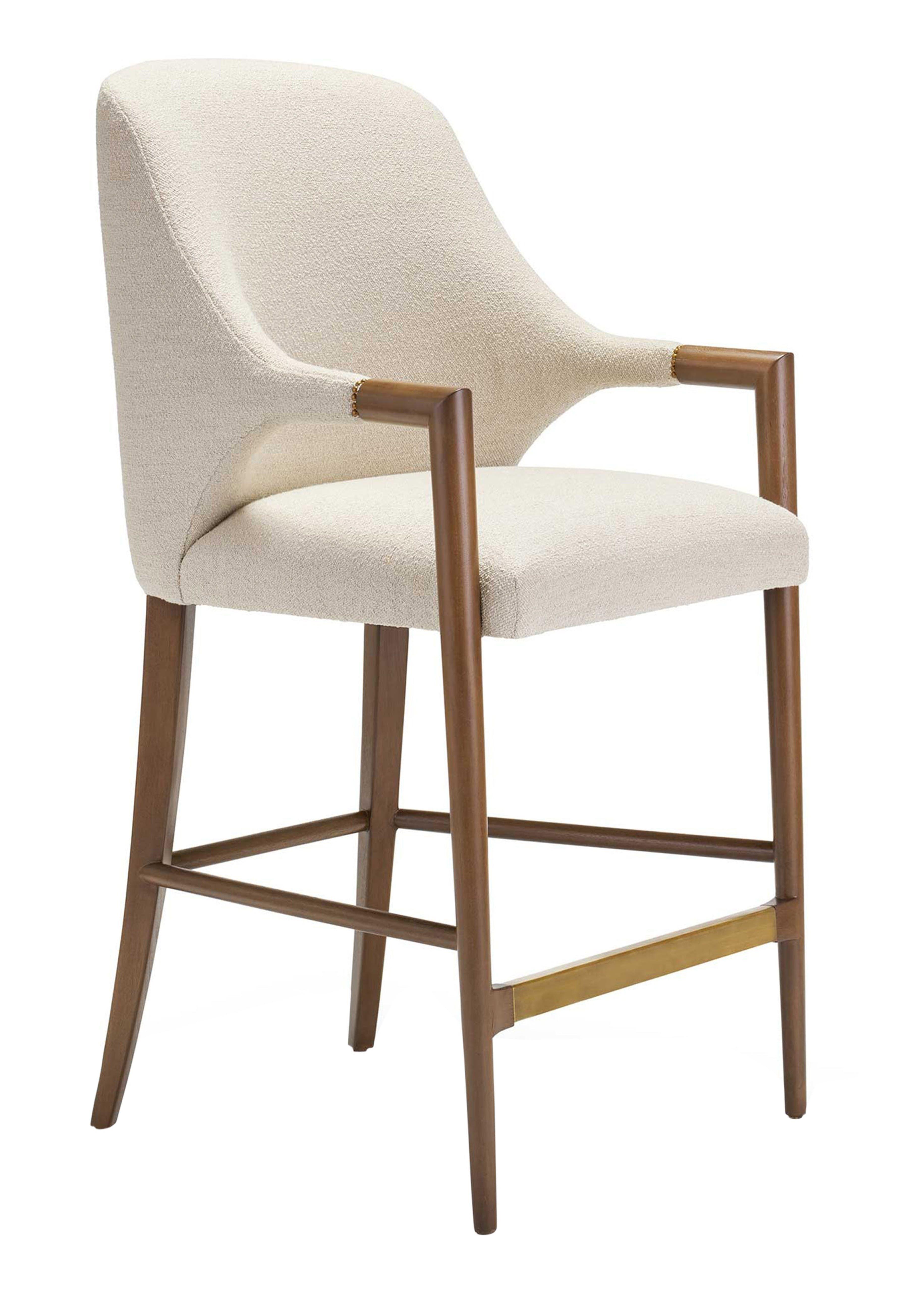 Quintus harris arm barstool furniture furniture seating barstools counter stools upholstery fabric wood 1501645622