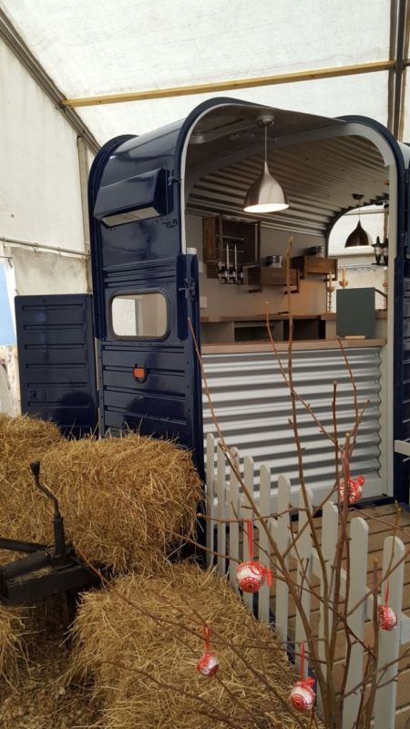 Catering Trailer Mobile Bar Converted Rice Horse