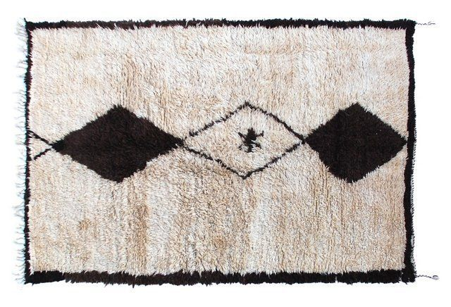 Moroccan Berber Rug, 6' x 8'