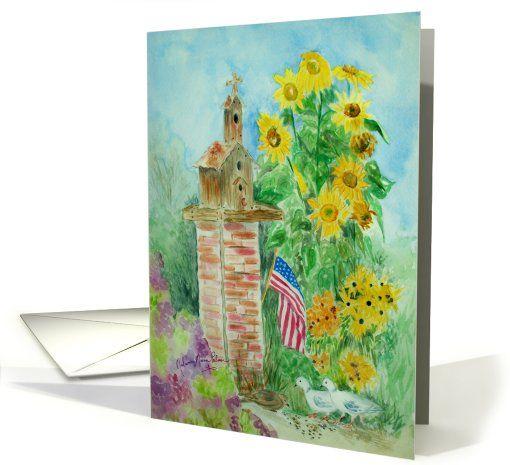 Sunflower Birthday Card Greeting Card Melanies Inspirational