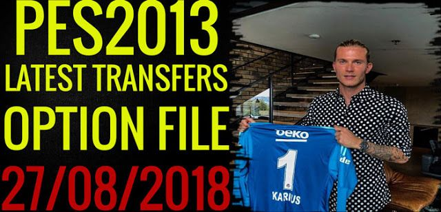 Pes 2013 option file 2019 | PES 2013 Summer Transfers Option File