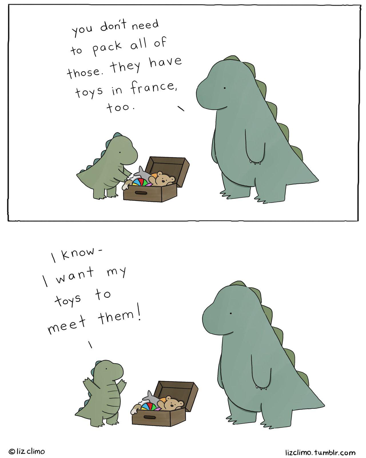 Cute Dinosaur Sheldon Wallpaper A Lil Dinosaur And His Dad 10 Sweet Comics Humour