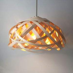 Tom Raffield Hive Pendant Wooden Lampshade
