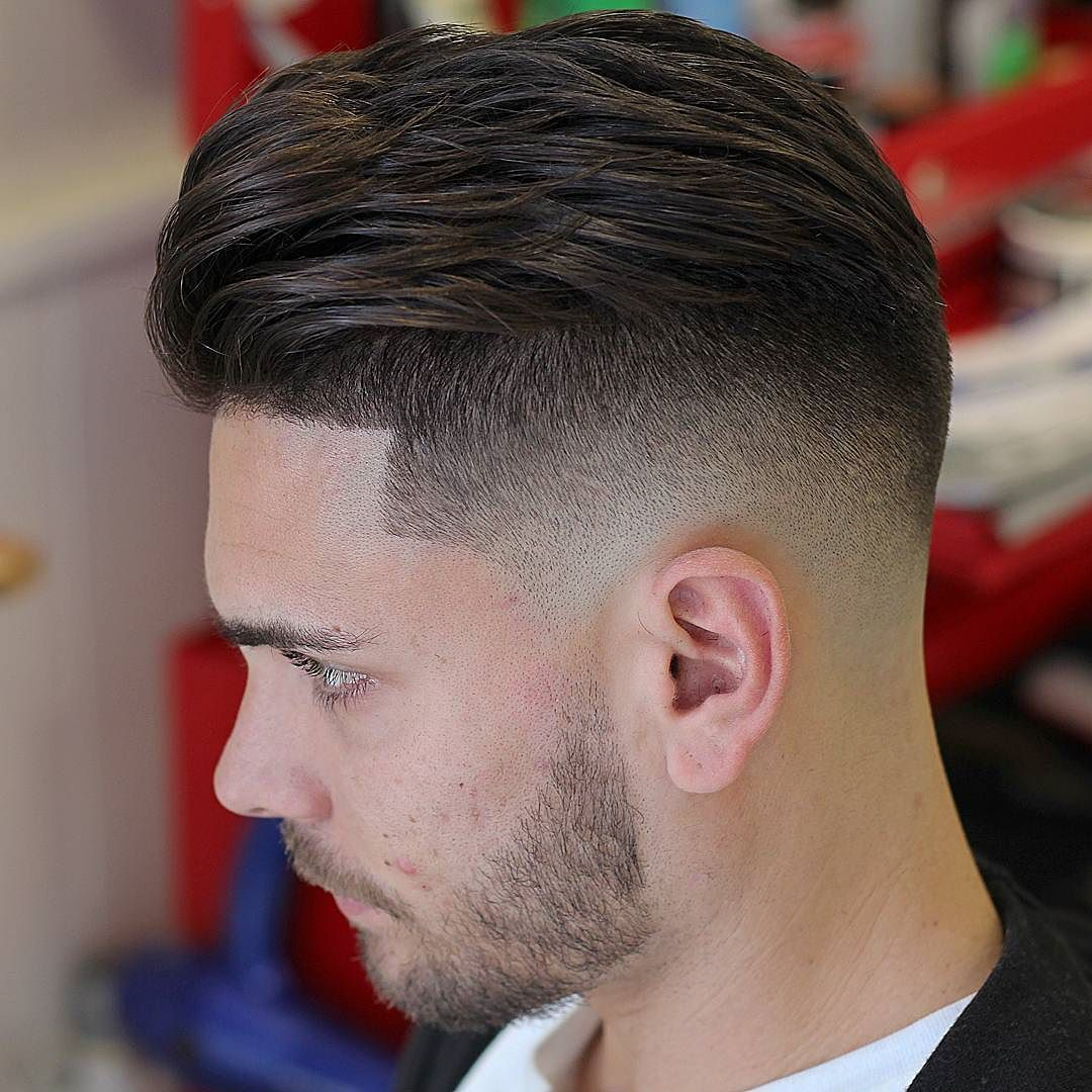Mens faded haircut menshairstyletrends u haircut by agusbarber on instagram