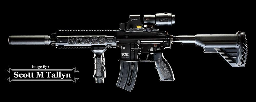 HK 416 (22LR) Rifle by Sxott M Tallyn | heckler & koch | Guns