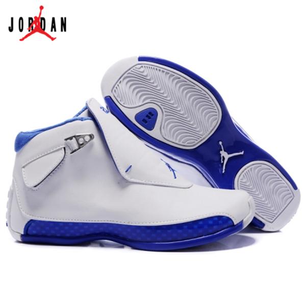 05b86cac848 305869-107 Air Jordan 18 Original OG White Women Sport Royal A24003,Jordan-Jordan  18 Shoes Sale Online