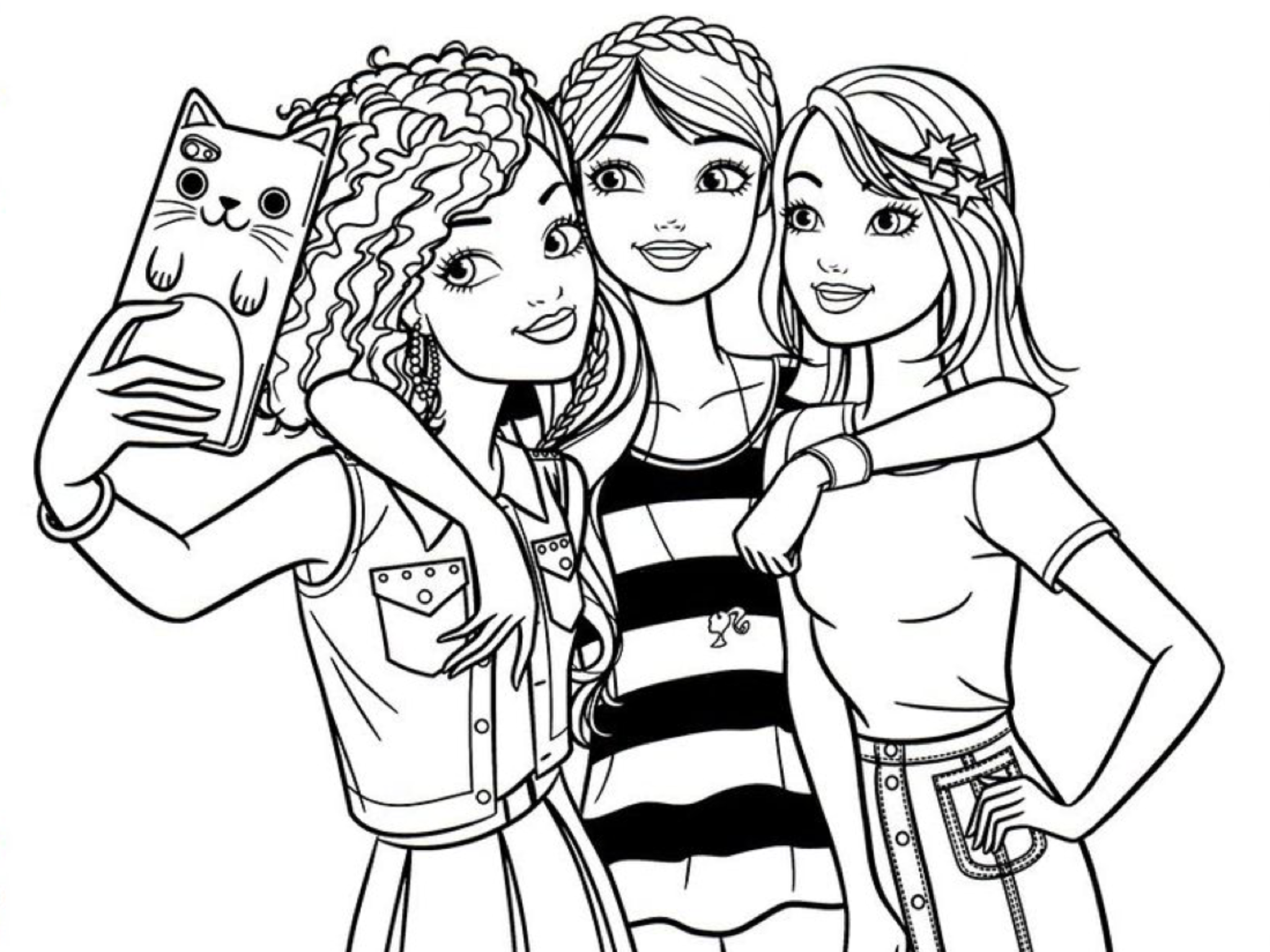 Barbie Coloring Barbie Coloring Pages Barbie Coloring People