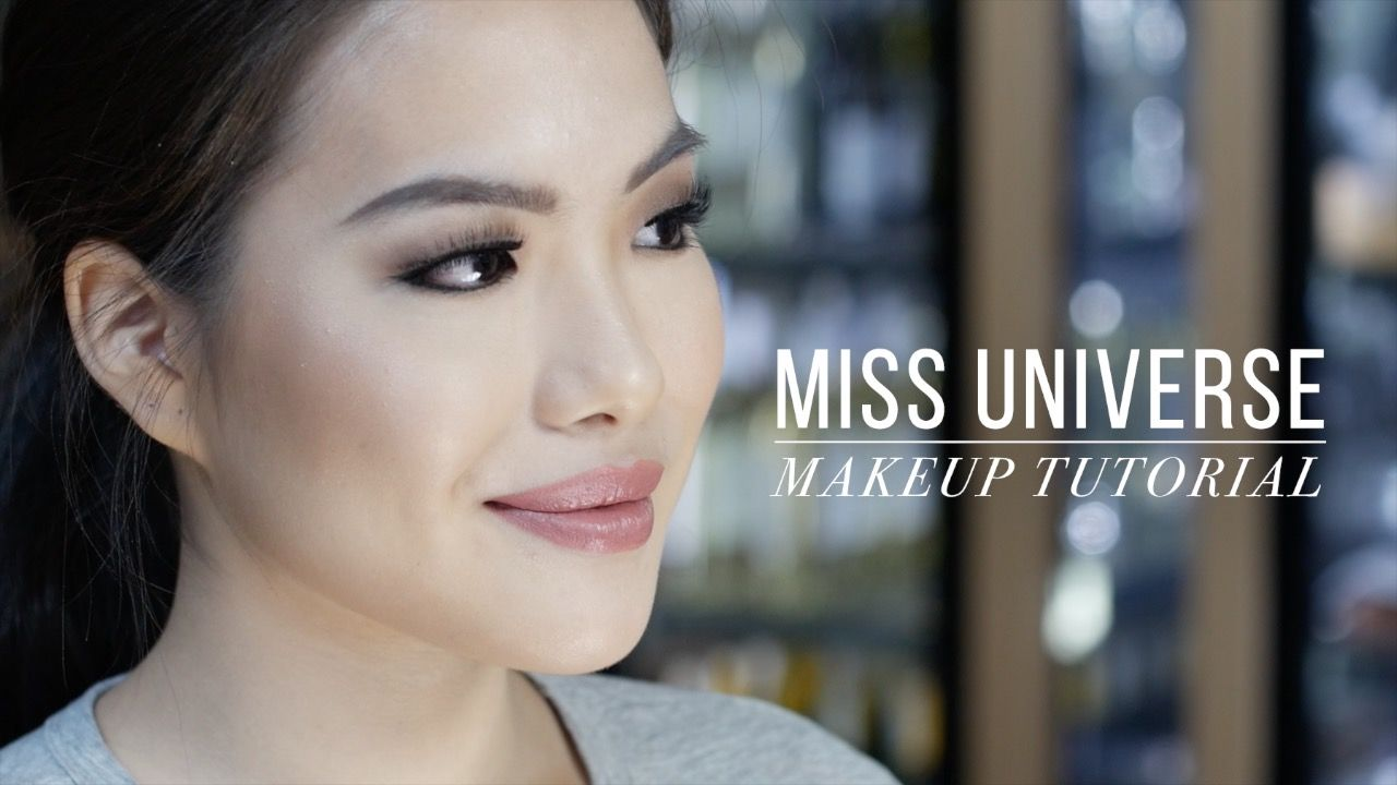 Makeup Artist Rb Chanco Who S Doing The Miss Universe 2016 Candidates Makeup Shares How To Create A Pe Makeup Tutorial Video Makeup Makeup Tutorials Youtube