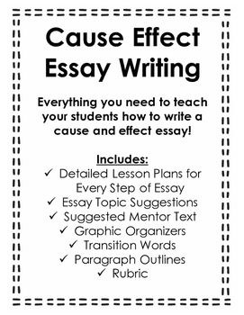 cause effect essay writing writing graphic organizers graphic cause effect essay writing