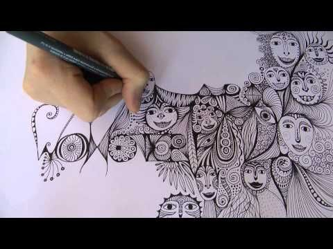 Intuitive Drawing Backwards Ulrike Hirsch Youtube Ulrike