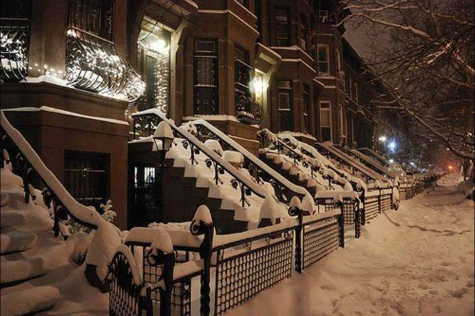 Winter night in New York