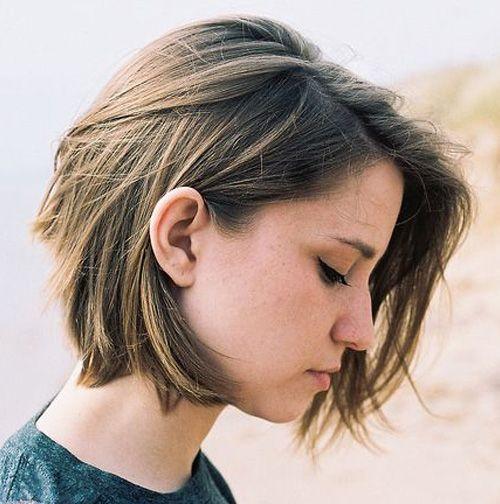 cute chin length hairstyles