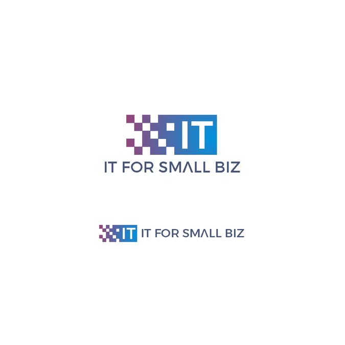 Create a logo for a website that simplifies and untangles  information technology for small business by Adella03