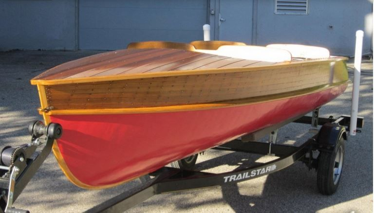 1940 14 Ft Peterborough Zephyr Cool Classic Boats Classic Wooden
