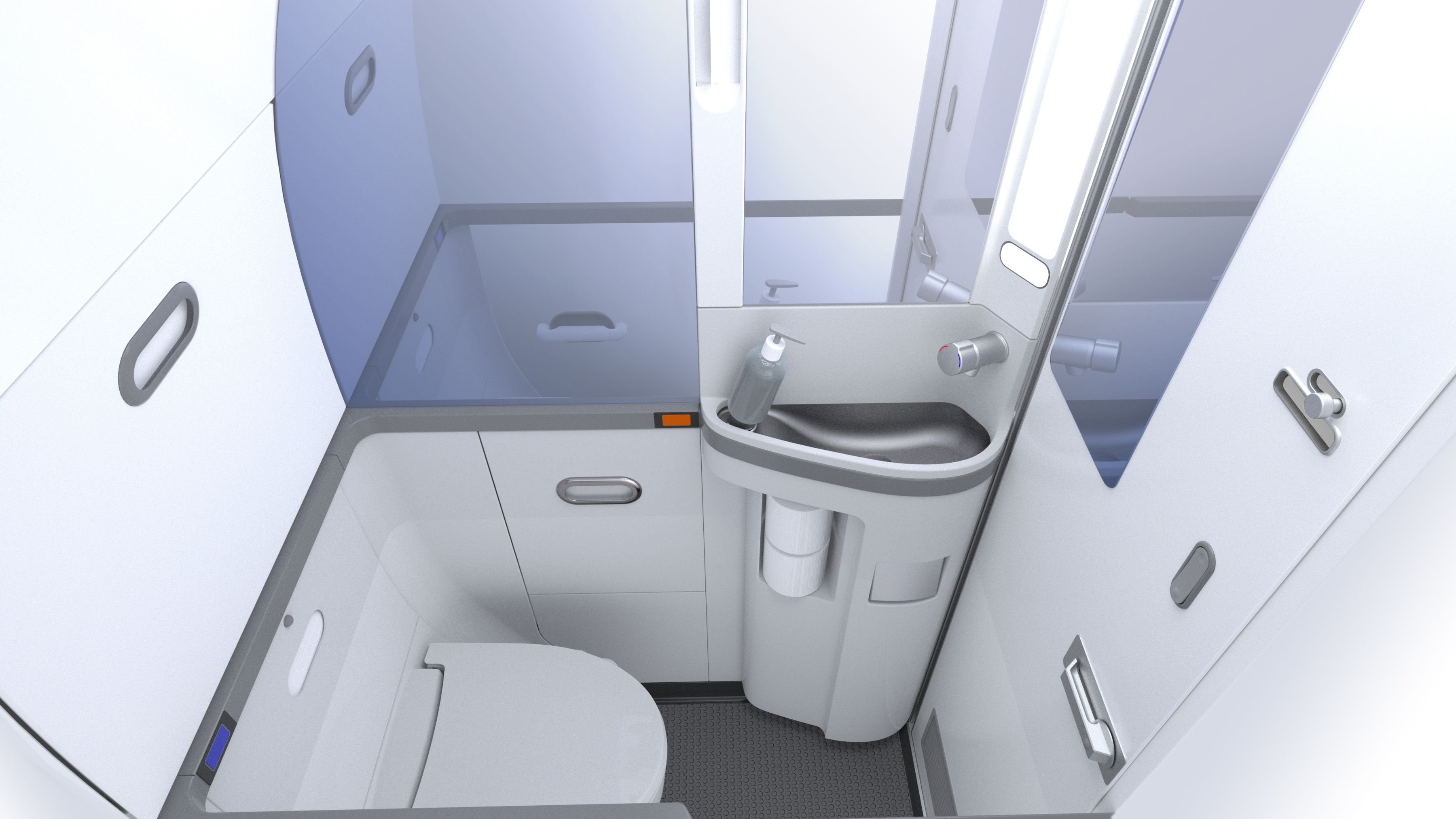 737 Advanced Lavatory - Aircraft Lavatories | Small ...