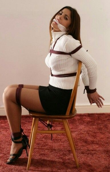 Pin by Shannon on chair tied  Pinterest  Tie Tied up