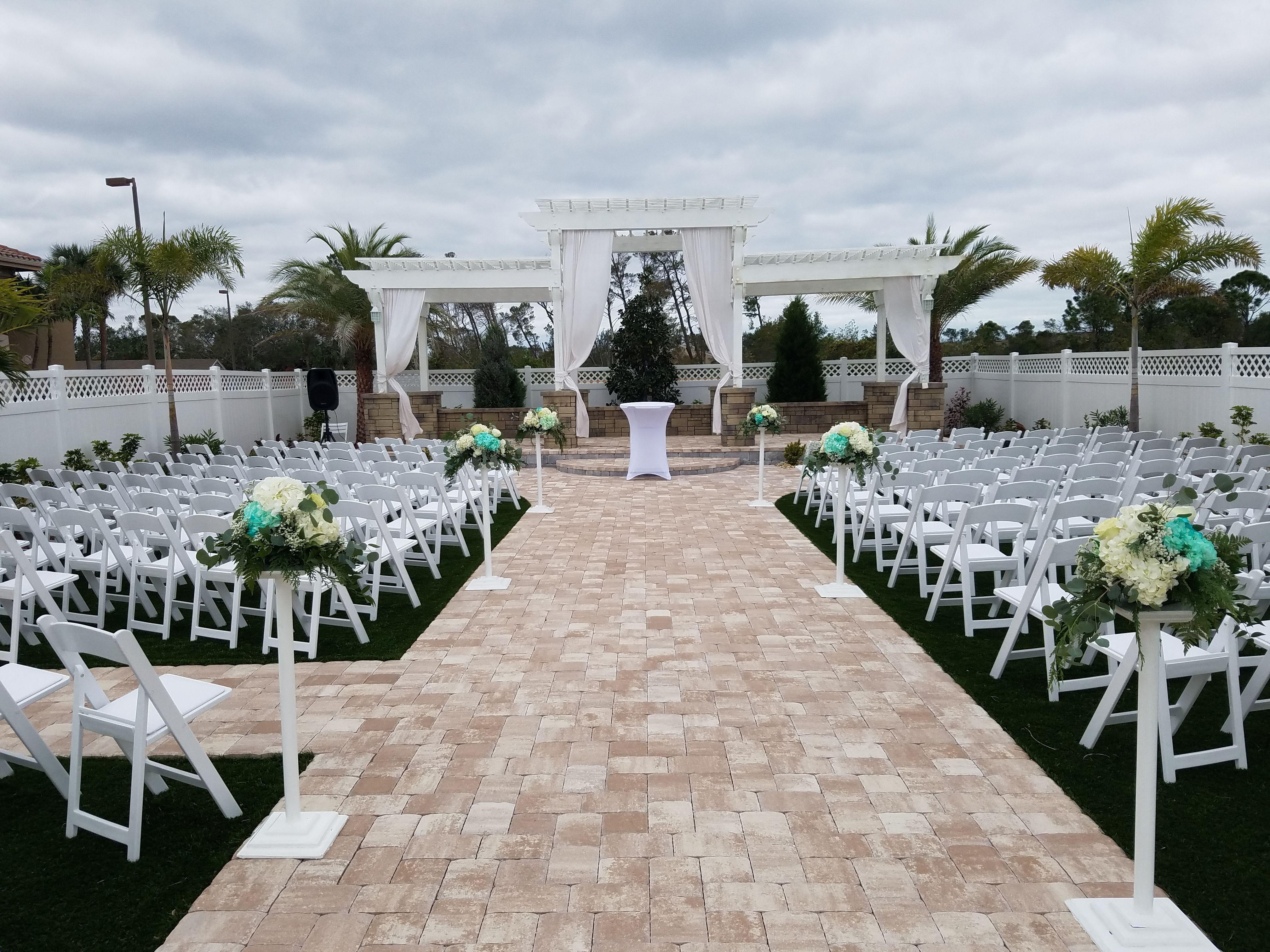 The Grand Manor Wedding Venue Outdoor Ceremonies Wedding