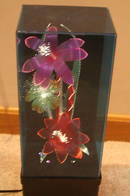 Vintage Retro 80s Electric Fiber Optic Flower Ebay Flower Lights Flower Lamp Retro Vintage
