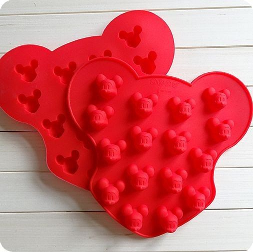 10-cavity Heart Cake Mold Flexible Silicone Soap Mold For Handmade Soap Candle Candy