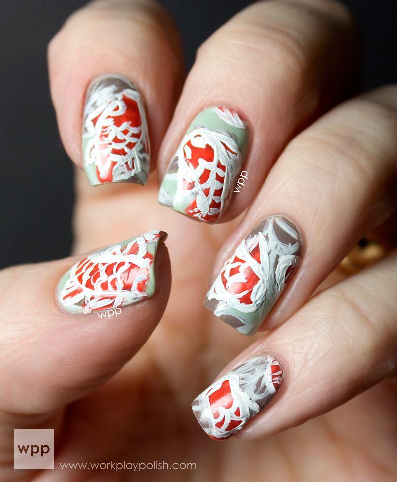 koi nail art | Nail Art Like Whoa | Pinterest | Koi