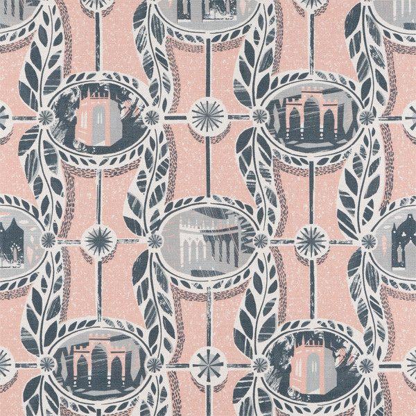 Ed kluz, Painswick print fabric at St Judes