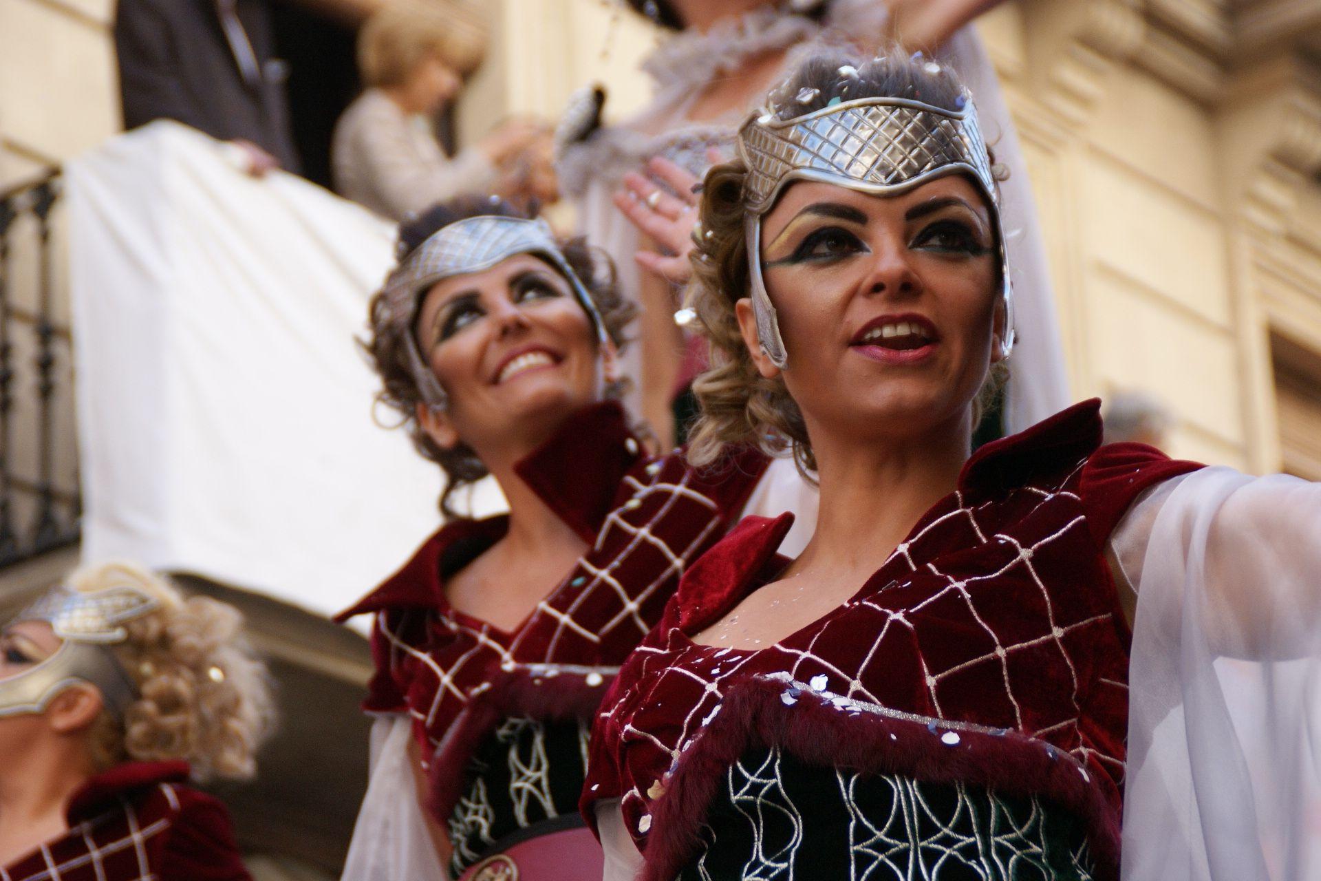 Damas en las Fiestas de Moros y Cristianos de #Alcoy #Alcoi #MorosyCristianos