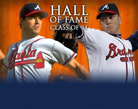 Congrats To Tom Glavine And Greg Maddux For Being Inducted Into The Hof Atlanta Braves Braves Braves Baseball