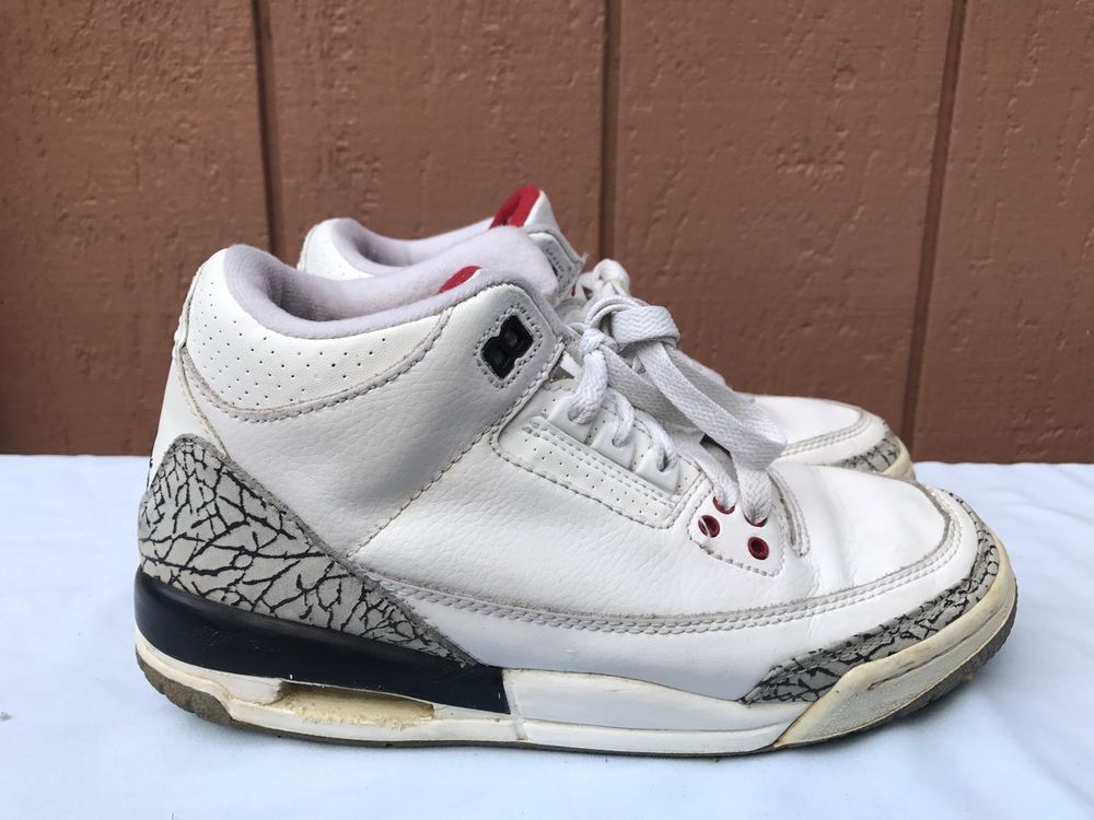 detailed look 9bd9b bc1e5 eBay #Sponsored RARE 2003 Nike Jordan III 3 Retro WHITE ...