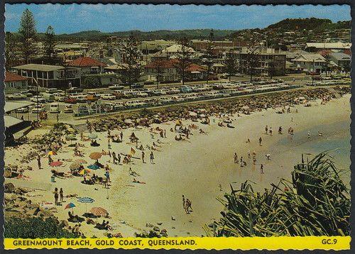 87s 1960 S 70 S Pc Of Greenmount Beach Gold Coast Queensland