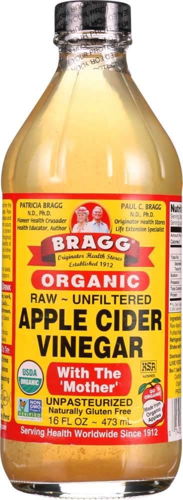 BRAGG: Organic Apple Cider Vinegar, 16 oz   Boire du