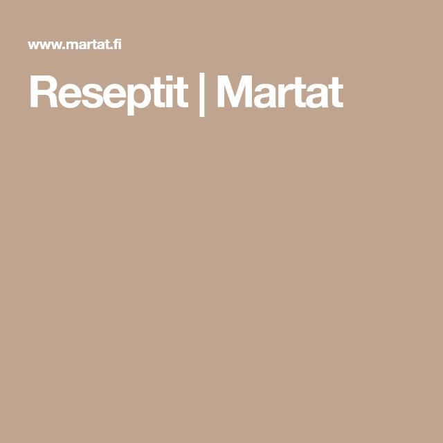 Martat Reseptit