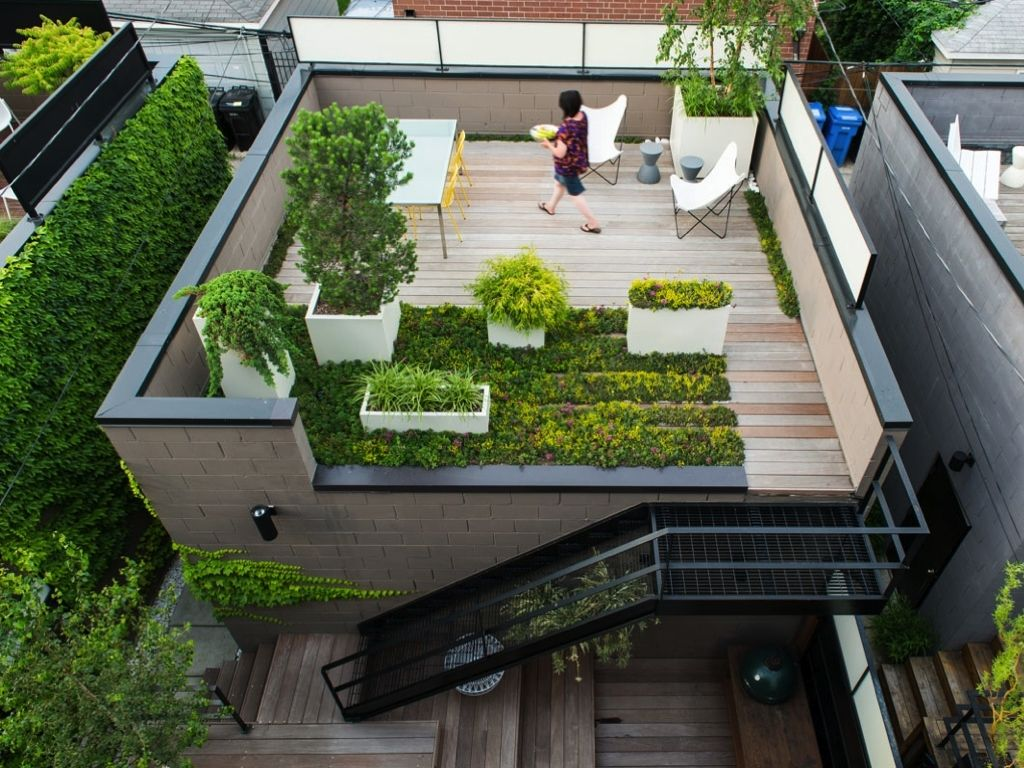 Deck Roofs Ideas As Backyard Deck Ideas Combined With Various Roof ...