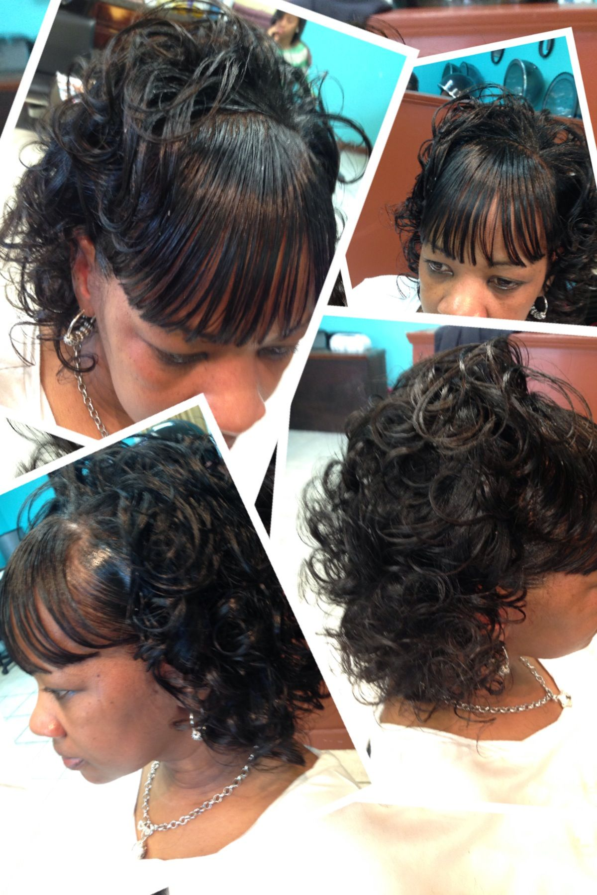 dorothy hairstyle : Tight doobie!!! Hair By Queen!!! Hair I am... Pinterest