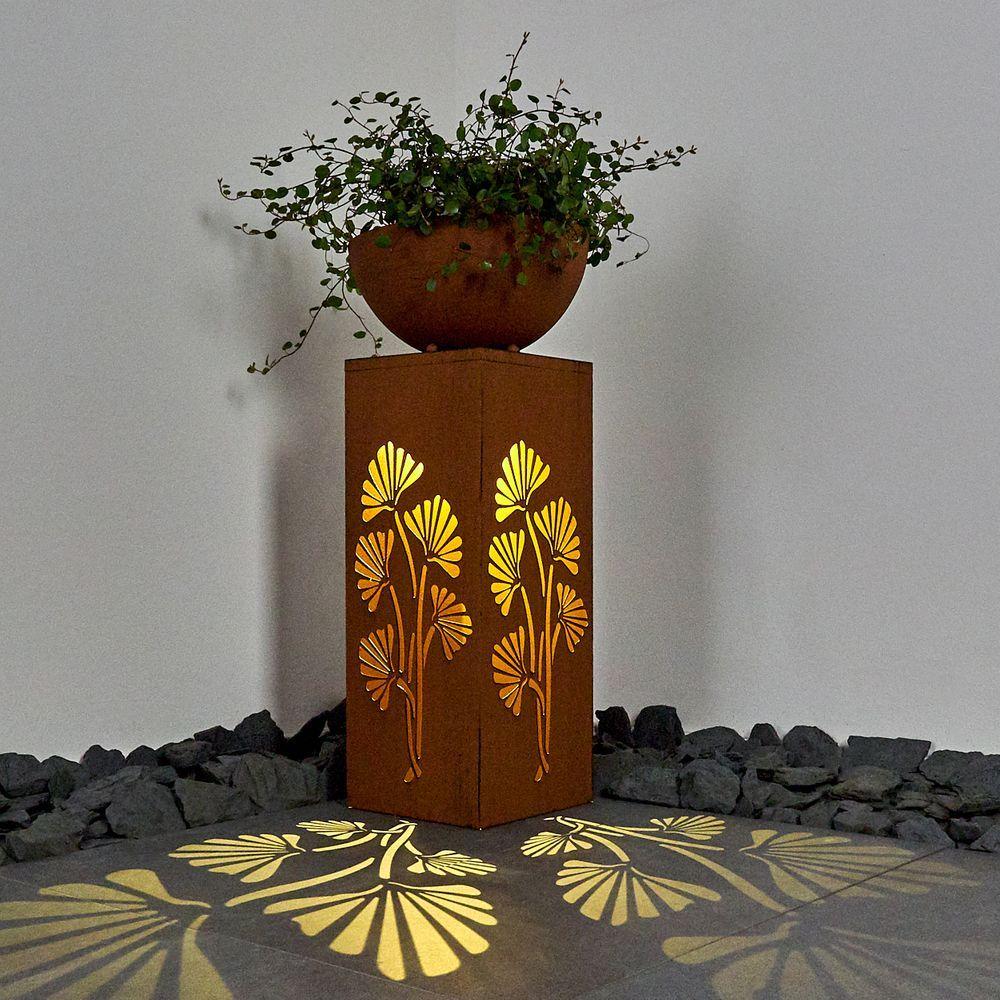 Solar Blumenkubel Hauseingang Gestalten Solarleuchten Hauseingang Gestalten Solar