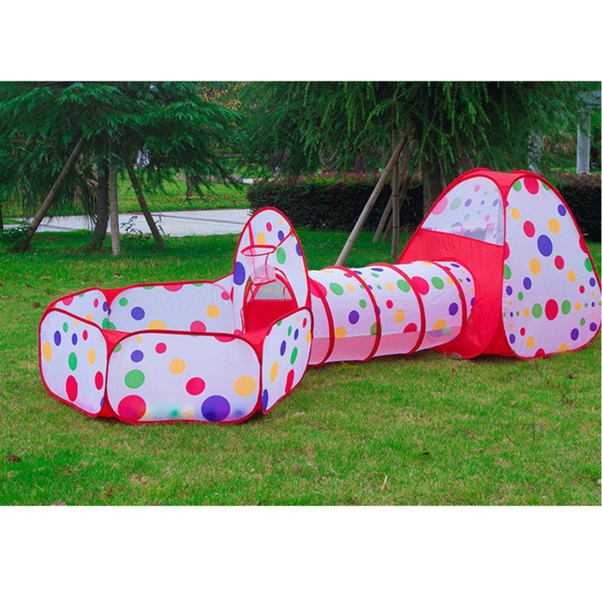 3pcs/set Foldable Kids Toddler Tunnel Pop Up Play Tent Toys For Children Indoor Outdoor  sc 1 st  Pinterest & 3pcs/set Foldable Kids Toddler Tunnel Pop Up Play Tent Toys For ...