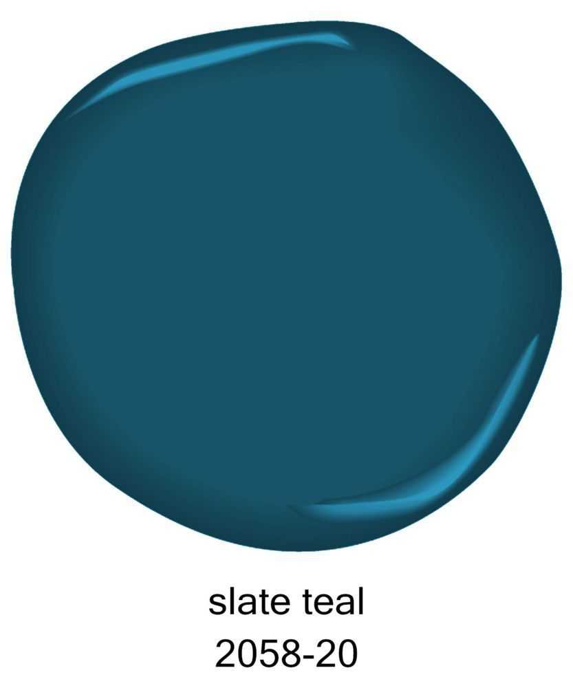 Benjamin moore slate teal pint sample bath green and for Benjamin moore slate grey