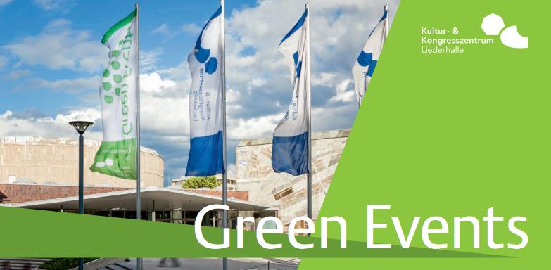 """Haben Sie gewusst, dass die Liederhalle """"Nachhaltiger Partner"""" ist?   Als Stuttgart im Herbst 2014 zum """"Nachhaltigen Reiseziel"""" ernannt wurde, brauchte die Landeshauptstadt Partnerbetriebe – und wir sind einer davon!"""
