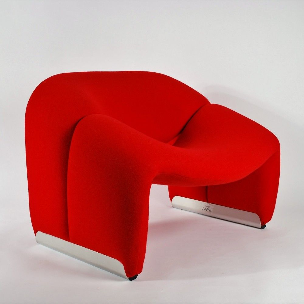Artifort Red Groovy Chair F598 M Chair By Pierre Paulin Chair Groovy Vintage Chairs