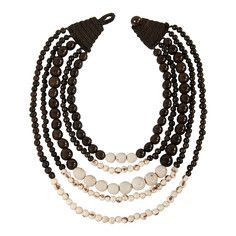 Carmen Cascade Necklace Ivory, $73, now featured on Fab.
