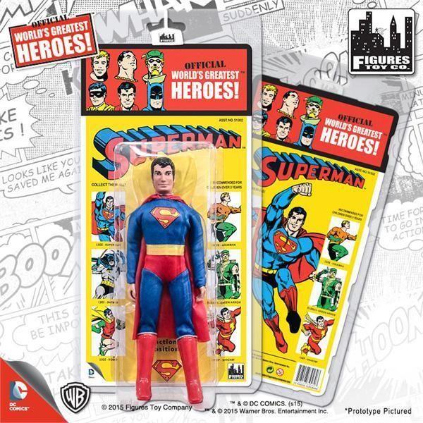 DC Retro Mego Kresge Style Batgirl Retro Card Action Figure