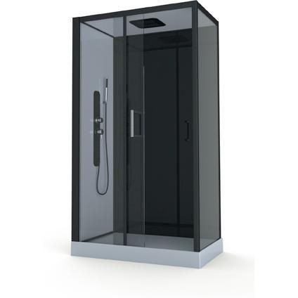 aurlane douchecabine pozzy 2 39 hydromassage 110 x 80 cm huis pinterest. Black Bedroom Furniture Sets. Home Design Ideas