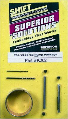 Superior Ford E4OD 4R100 Automatic Transmission Pump