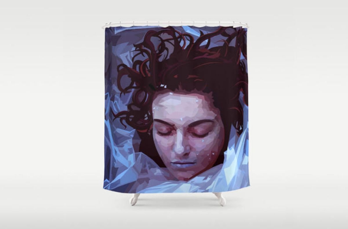 Forget The Coffee These Are Damn Fine Shower Curtains Laura PalmerTwin PeaksArt