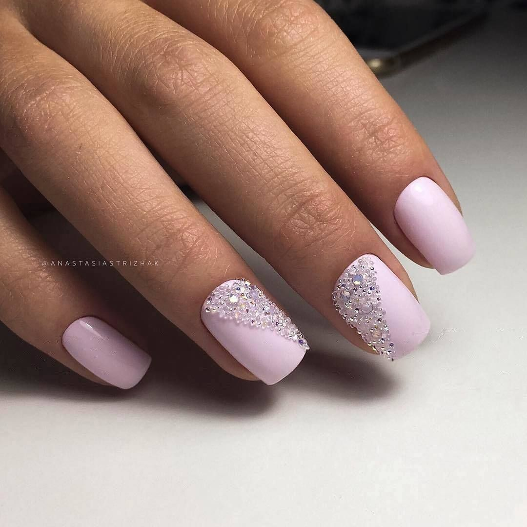 Nail Art 2582 Best Nail Art Designs Gallery Pale Pink Nails