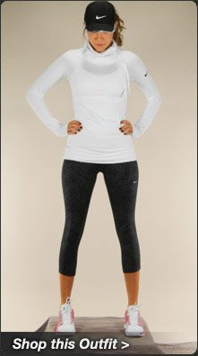 The Nike Pro Hyperwarm Side Tie Top f0421f9cd4ef