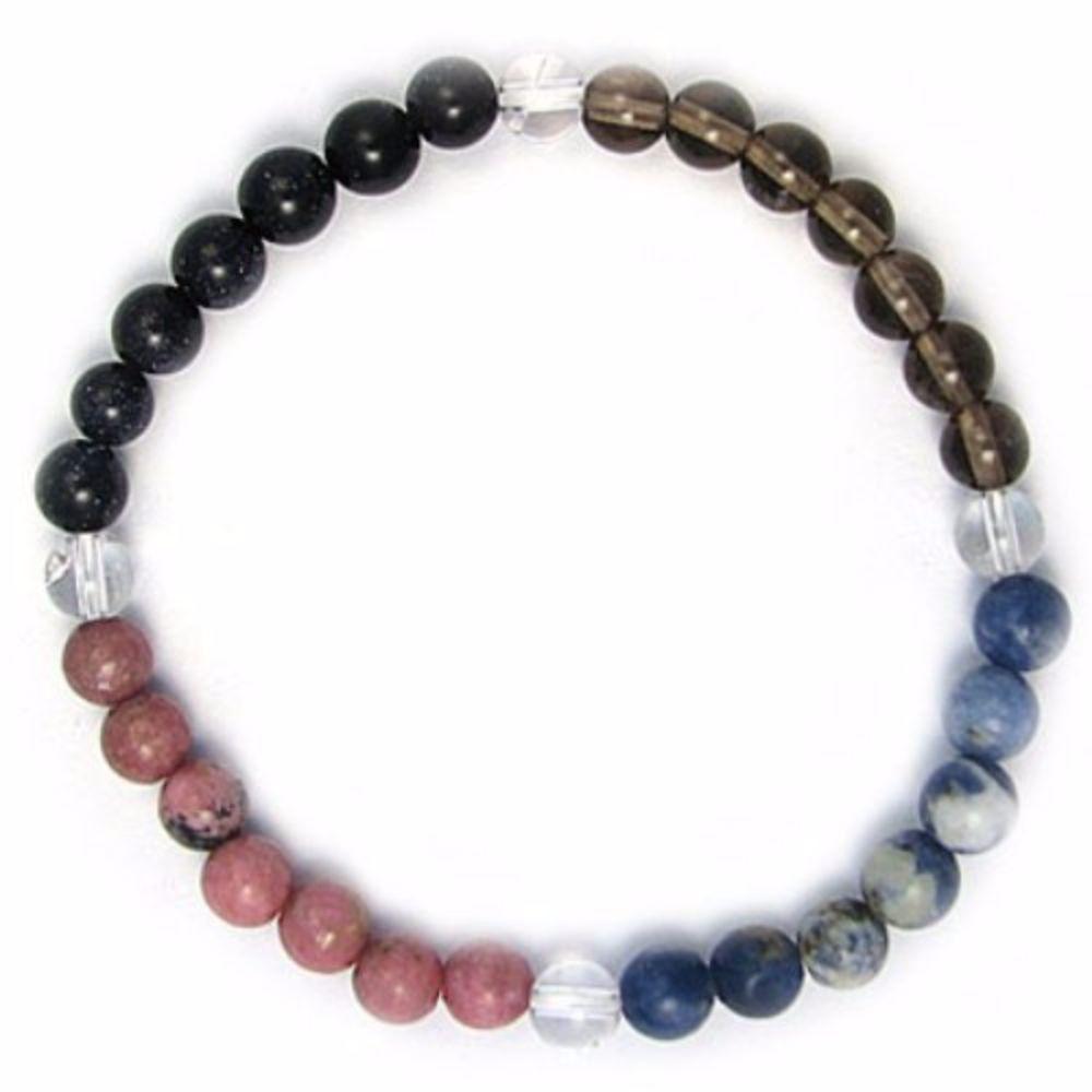 Gemstone Zodiac Bracelet Crystal Healing Sagittarius Zodiac Bracelet Gemstones Energy Gemstones
